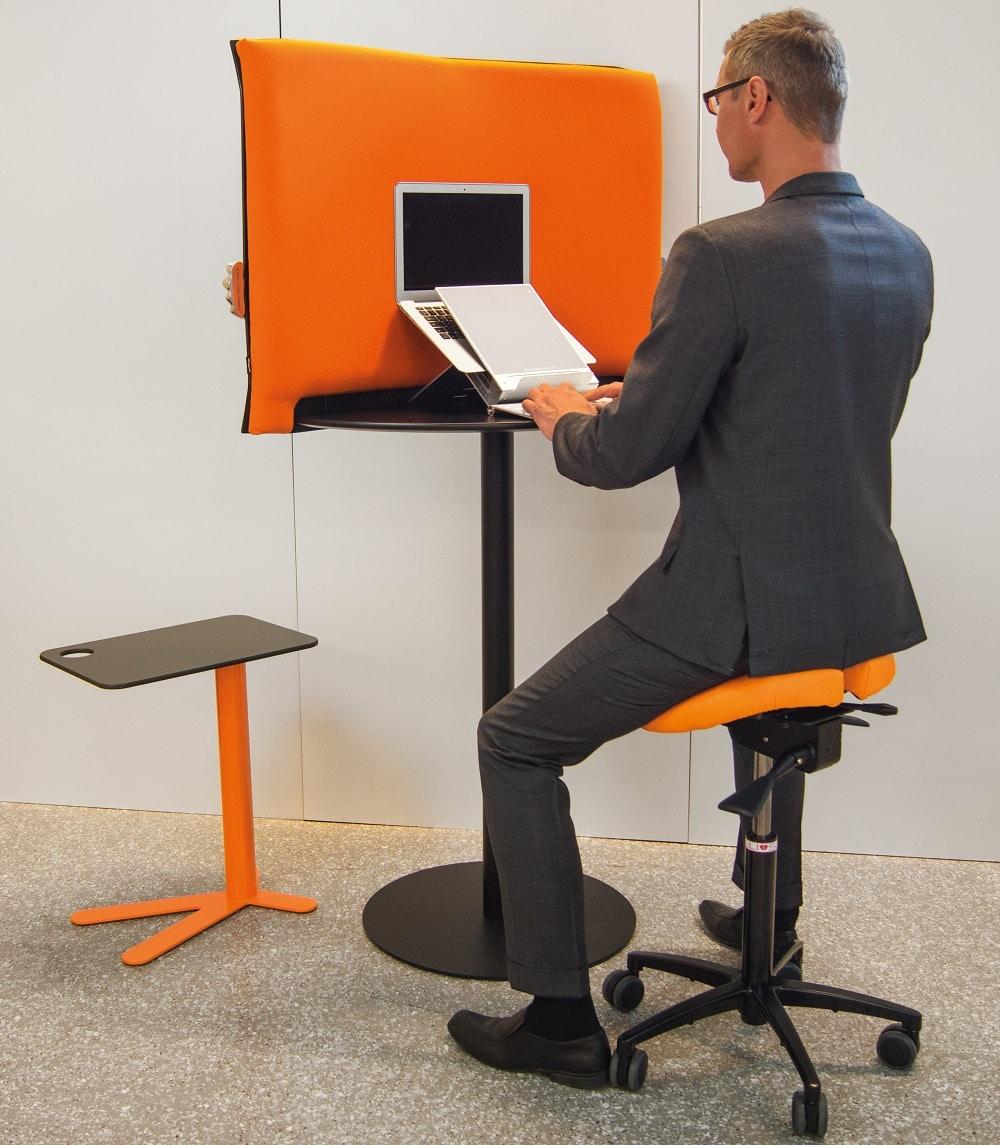 כסא אוכף שולחן עמידה ישיבה SALLI טופ קומרס ציוד ארגונומי למשרד
