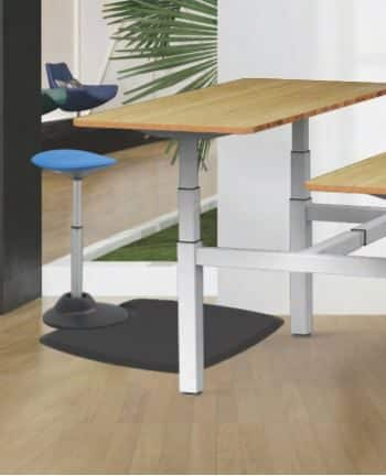 כיסא עמידה ישיבה ארגונומי YOYO – תוצרת CASIII (כחול או שחור)
