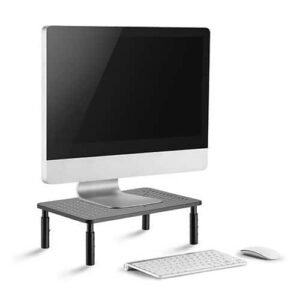 מעמד מסך ארגונומי מתכוונן Computer CPU Desktop Monitor stand CAS-081 by CASIII