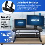 שולחן עמידה/ישיבה מתכוונן ארגונומי SX36 – תוצרת CASIII