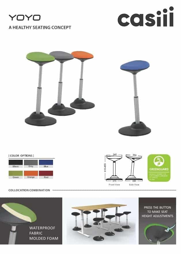 YOYO CASIII Sit Stand CHAIR