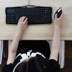 מקלדת הפוכה – מתאימה לעכבר בצד ימין – דגם Evoluent Reduced Reach R3K