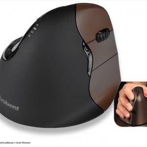 יד ימין – עכבר ארגונומי אנכי אלחוטי מידה קטנה ימיני – דגם Evoluent VerticalMouse 4 Small