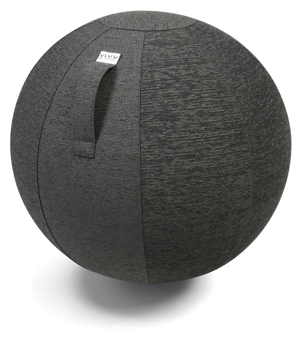 כדור ישיבה ארגונומי – VLUV STOV Anthracite – אפור (כדור פיזיו איכותי)