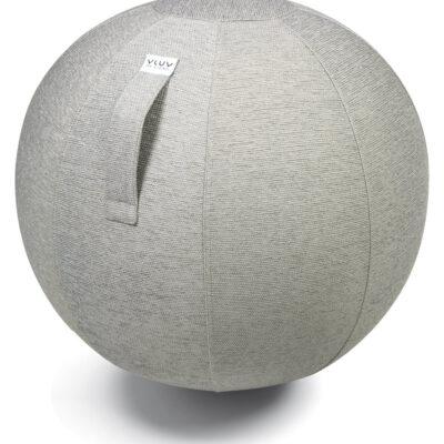 כדור ישיבה ארגונומי  – VLUV STOV Concrete – אפור בהיר (כדור פיזיו איכותי)