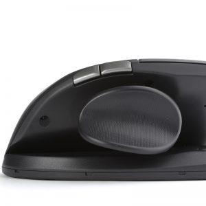 יד שמאל – עכבר ארגונומי אנכי אורטופדי אלחוטי שמאלי – דגם Unimouse-WL-L  – תוצרת CONTOUR