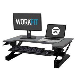 33-397-085-WorkFit-T Ergotron עמדת עמידה ישיבה מתכווננת