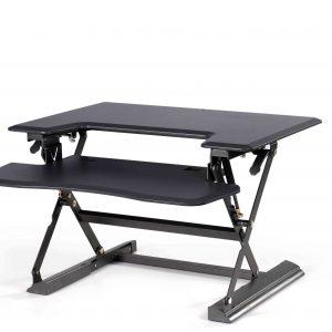 עמדת מחשב עמידה/ישיבה מתכווננת ארגונומית דגם  UP36 תוצרת CASIII