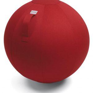 כדור ישיבה ארגונומי – VLUV LEIV 65 – תוצרת HOCK – אדום (כדור פיזיו איכותי)