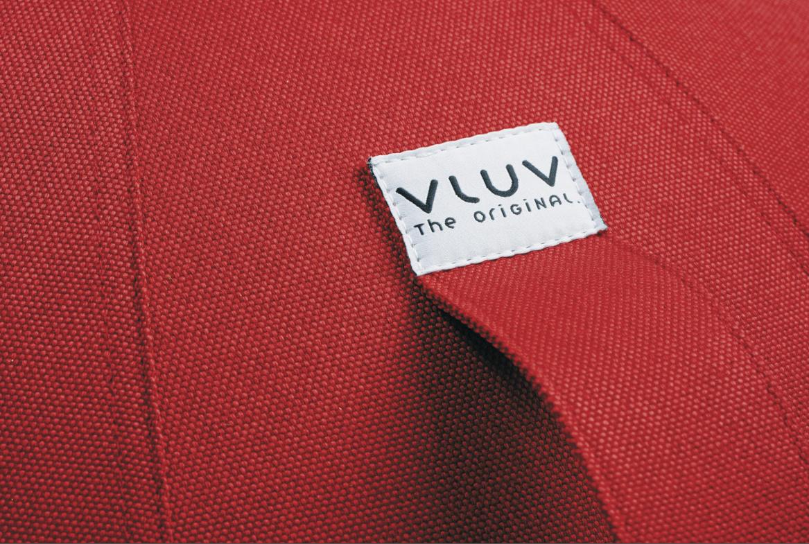 כדור ישיבה ארגונומי – VLUV LEIV Ruby Rot – אדום (כדור פיזיו איכותי)