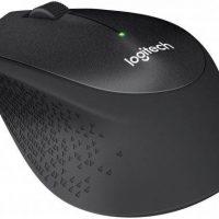 עכבר אלחוטי Logitech M330 Silent Plus Retail בצבע שחור (1)