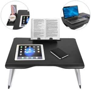 שולחן מחשב נייד מתכוונן לספה ולמיטה