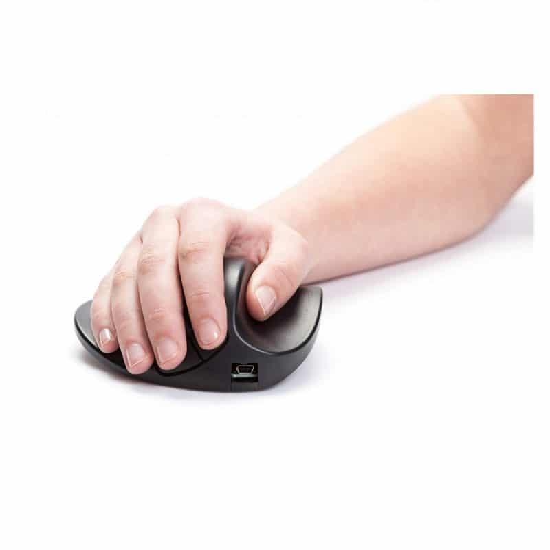 HandShoe Mouse M2UB-LC עכבר ארגונומי ימין אל חוטי טופ קומרס