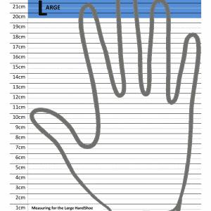 יד שמאל – עכבר ארגונומי אנכי אורטופדי אלחוטי – HANDSHOE MOUSE
