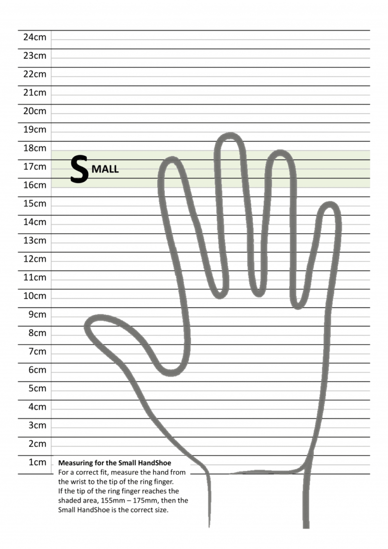 מדידת כף יד לעכבר ארגונומי HandShoe_Large_Ruler טופ קומרס ציוד ארגונומי S