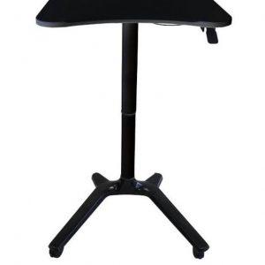 שולחן מחשב נייד עמידה/ישיבה מתכווננת ארגונומית דגם MT01 תוצרת CASIII לבן / שחור