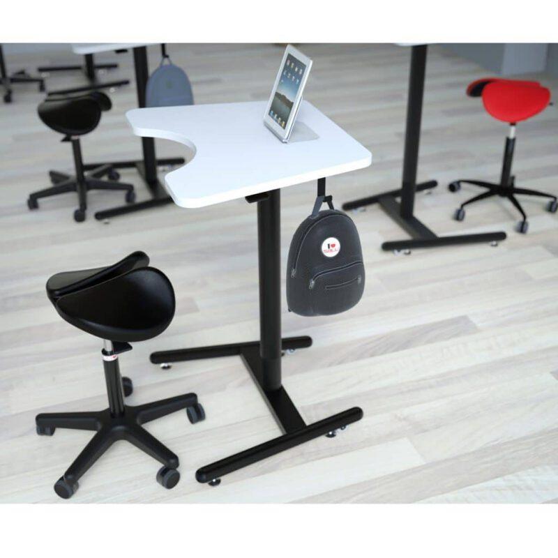 SALLI כסא אוכף ארגונומי טופ קומרס ציוד ארגונומי למשרד .jpg LIGHT בית ספר תלמידים