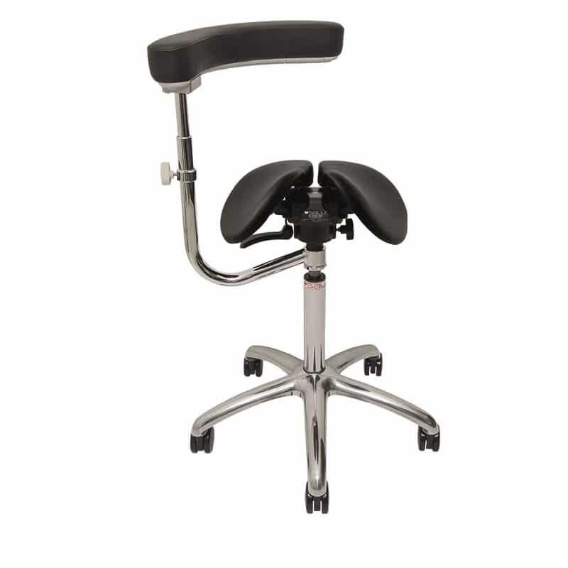 SALLI כסא אוכף ארגונומי טופ קומרס ציוד ארגונומי למשרד Allround תומך זרועות 3