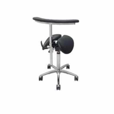תומך זרועות מסתובב – לכסא אוכף ארגונומי מתכוונן תוצרת SALLI – ELBOREST