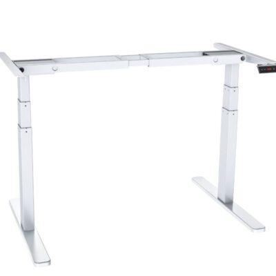 שולחן ישיבה עמידה חשמלי מתכוונן ארגונומי Stand35 – תוצרת CASIII – לבן