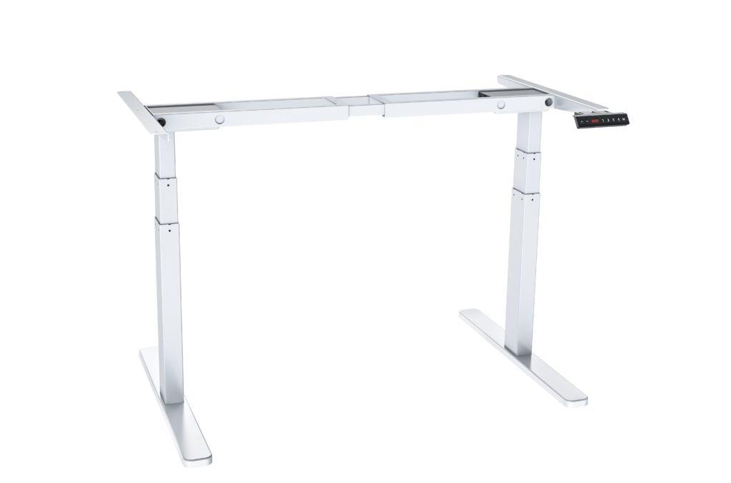 שולחן ישיבה עמידה חשמלי מתכוונן ארגונומי Stand-35 – תוצרת CASIII – לבן
