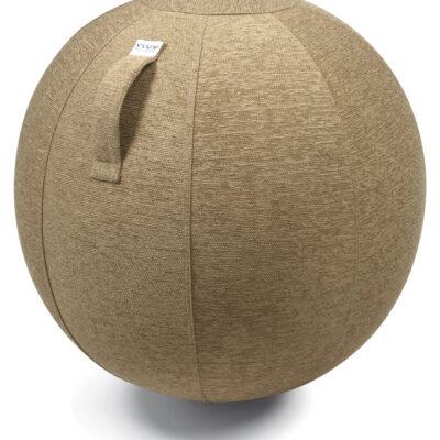 כדור ישיבה ארגונומי – VLUV STOV Macchiato – חום בהיר (כדור פיזיו איכותי)