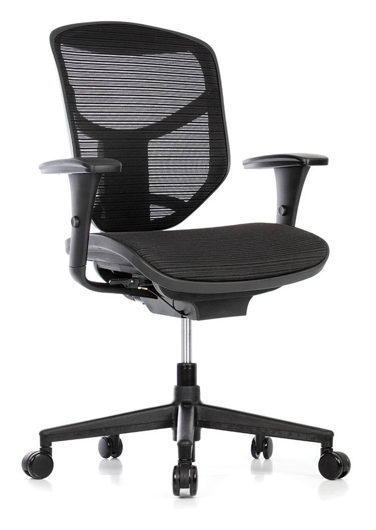Enjoy כסא משרדי ארגונומי מתכוונן טופ קומרס