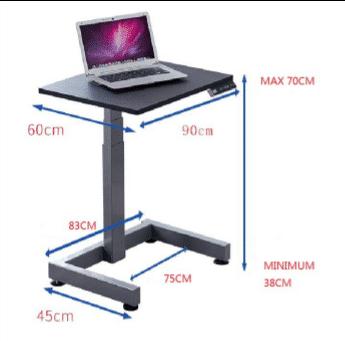 """שולחן מתכוונן חשמלי גובה נמוך לבודד \ זוגי בטווח 70-38 ס""""מ – STANDKID10ES"""