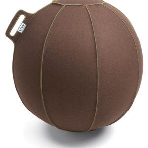 כדור ישיבה ארגונומי – VLUV VELT- תוצרת HOCK – חום (כדור פיזיו איכותי)
