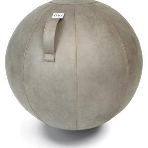 כדור ישיבה ארגונומי -VLUV VEEL Mud Light Grey – אפור בהיר (כדור פיזיו איכותי)