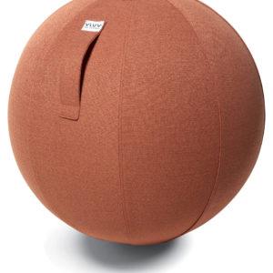 כדור ישיבה ארגונומי – VLUV SOVA Salmon – ורוד כסוף(כדור פיזיו איכותי)