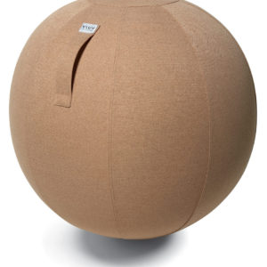 כדור ישיבה ארגונומי – VLUV SOVA Bisque – חום בהיר(כדור פיזיו איכותי)