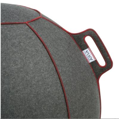 כדור ישיבה ארגונומי – VLUV VELT- תוצרת HOCK – אפור (כדור פיזיו איכותי)