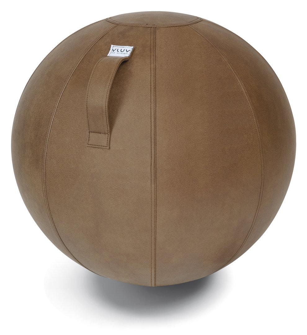 כדור ישיבה ארגונומי -VLUV VEEL Cognac Brown – חום (כדור פיזיו איכותי)