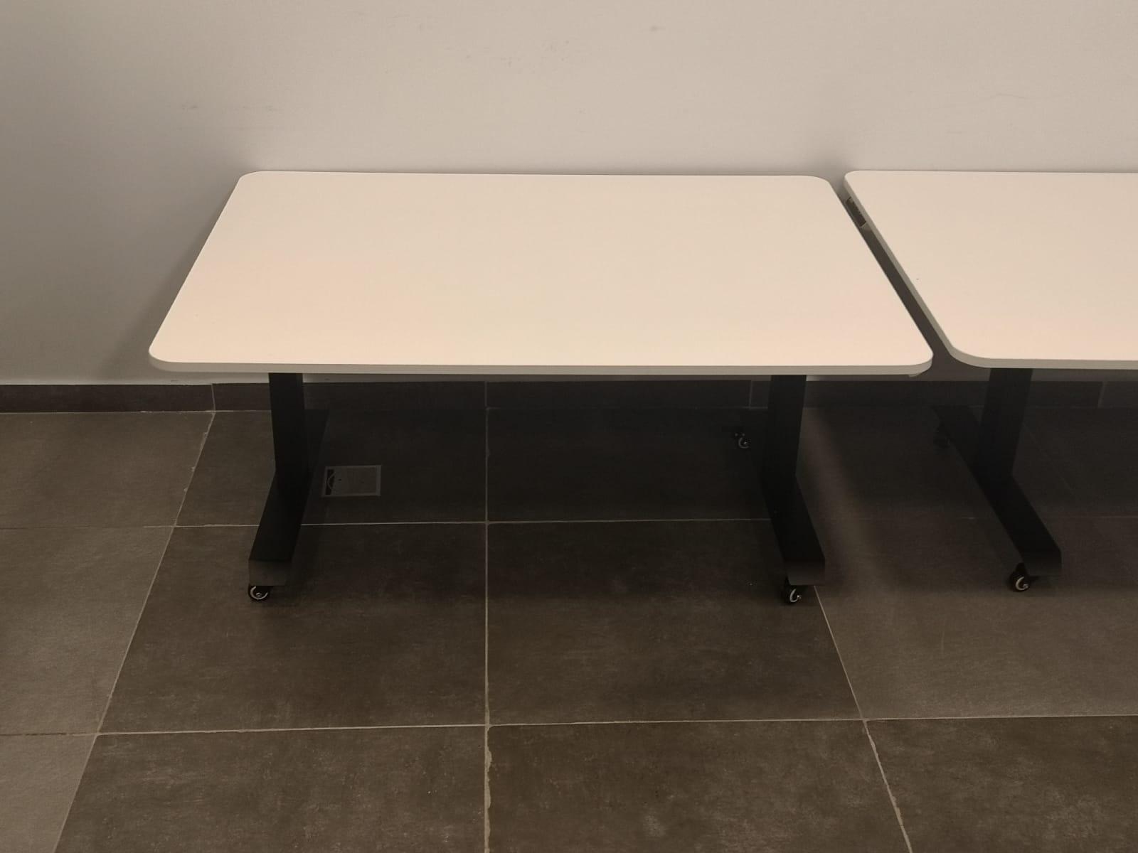 """שולחן מתכוונן חשמלי לבודד \ זוגי \ קבוצתי בטווח גובה 70-38 ס""""מ STANDKID35"""