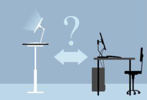 עבודה בישיבה או עמידה?