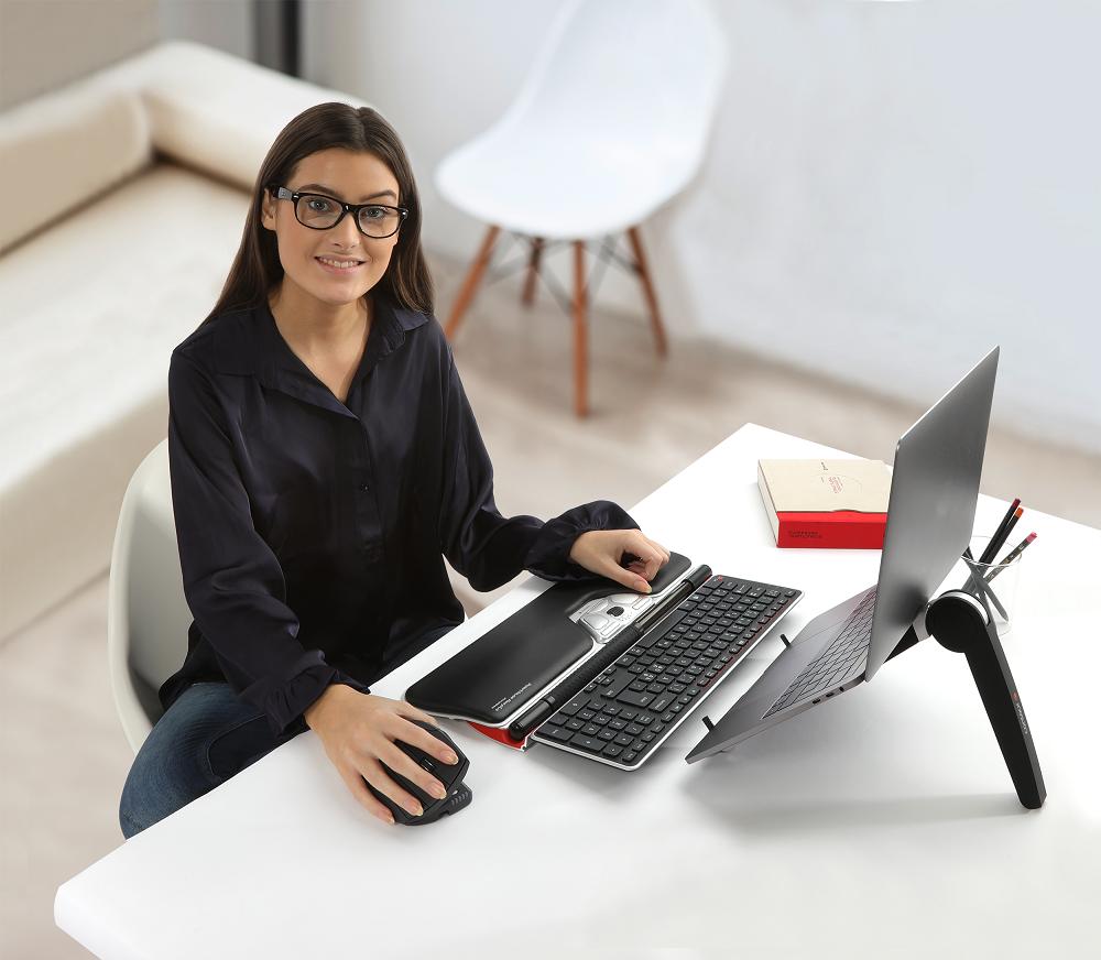 מעמד קומפקטי מתקפל למחשב נייד – Contour Design