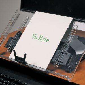מעמד מסמכים מתכוונן עם מגביה מסך – Vu Ryte 18KB
