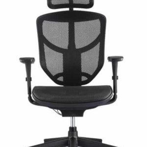 כסא משרדי מתכוונן – Enjoy עם משענת ראש