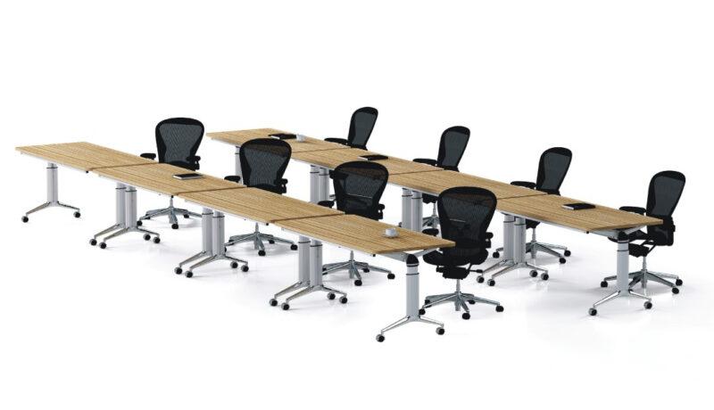 שולחן מתקפל עם גלגלים 3130