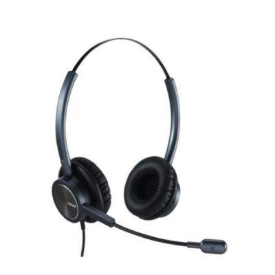 ערכת ראש לשתי אוזניים + מיקרופון מיועד לשיחות MRD-809DB