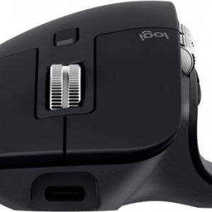 עכבר ארגונומי אלחוטי ימין Logitech MX Master 3 – שחור
