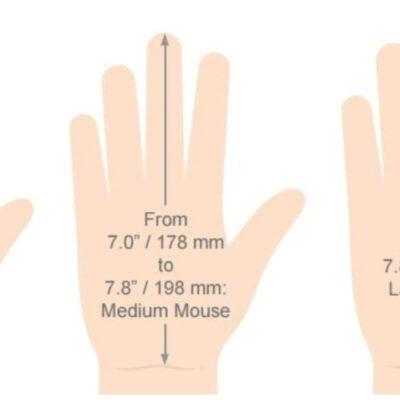 עכבר ארגונומי אנכי VerticalMouse D – EVOLUENT – ימין/שמאל חוטי