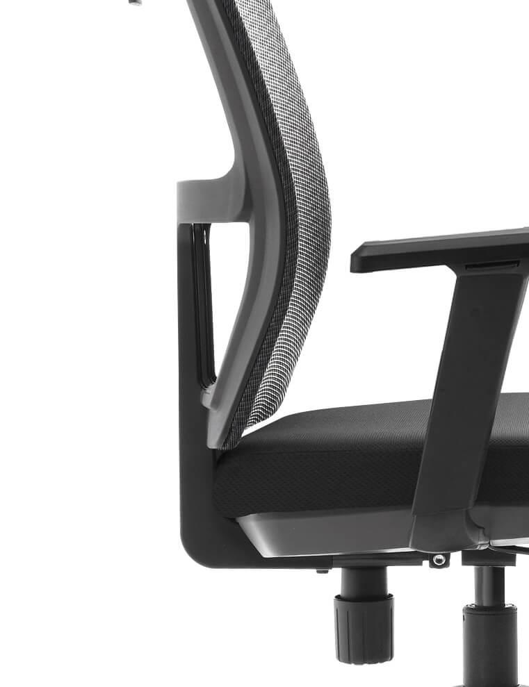 כסא עבודה פרימיום ארגונומי מתכוונן עם תומך ראש – ERGOTOP SUNNY HS