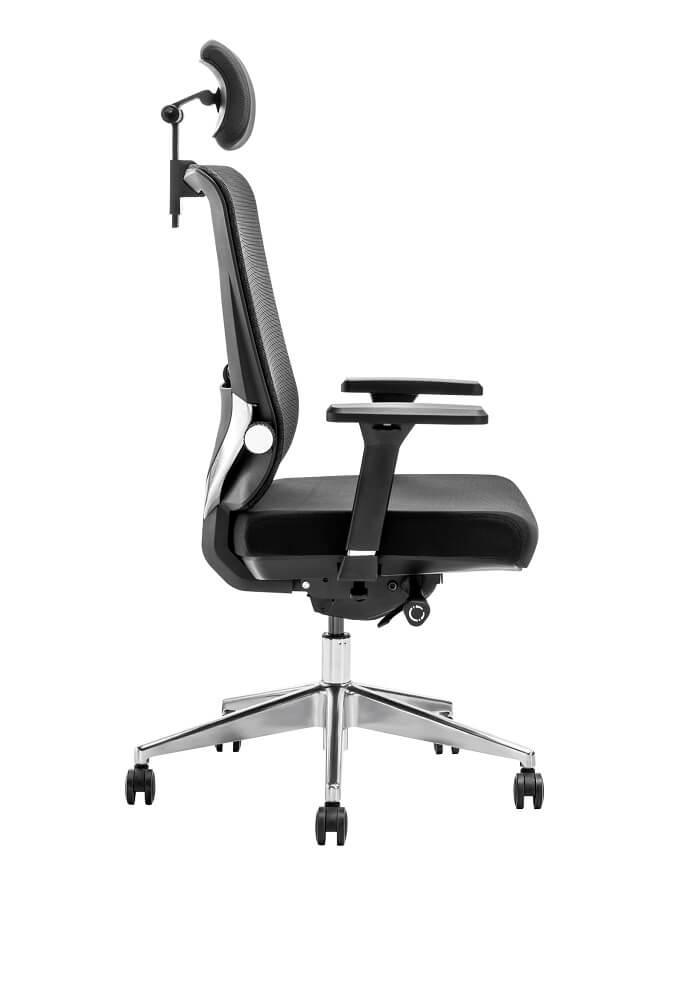 כסא ארגונומי מתכוונן דגם נועם מבית ERGOTOP
