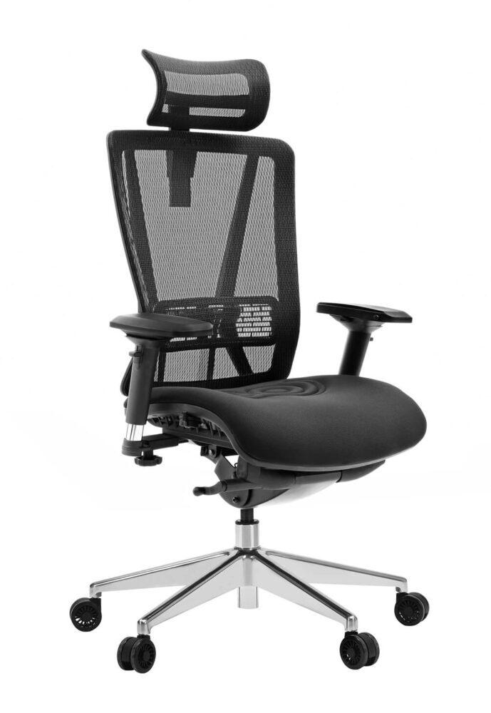 כסא מנהלים אקסלוסיבי ארגונומי מתכוונן – ERGOTOP RONNI