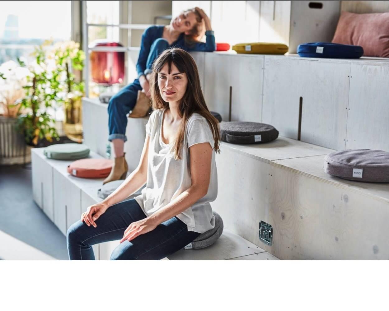 כרית ישיבה ארגונומית – PIL&PED SOVA – במגוון צבעים