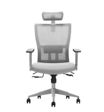 כסא מנהלים פרימיום ארגונומי מתכוונן עם תומך ראש – INBAR