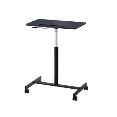 שולחן מחשב נייד עמידה/ישיבה מתכווננת ארגונומית דגם MT02  לבן / שחור