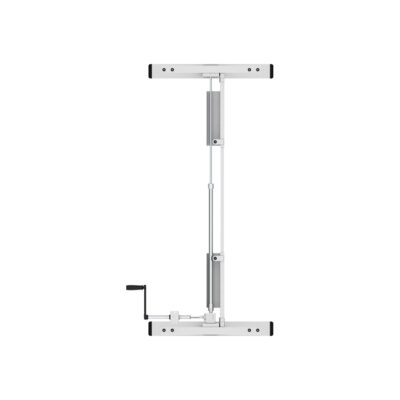שולחן ישיבה עמידה ידני מתכוונן ארגונומי Stand-14 – תוצרת CASIII – לבן
